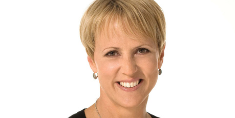 Hilary Barry who was wearing a stylish towering hat in shades in cream, joked that her sones had likened it to a triceratops.