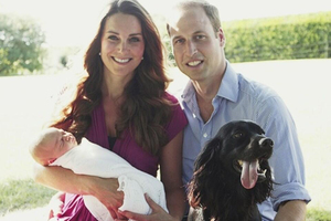 The Duke and Duchess of Cambridge with Prince George will take their very own tiki tour around New Zealand next month. Photo/ file