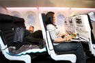 Air New Zealand's Skycouch.