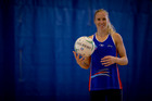 Northern Mystics netball player Laura Langman. Picture / Dean Purcell