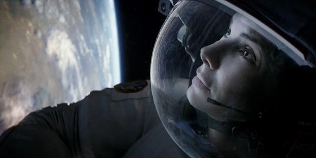Sandra Bullock as Ryan Stone in Gravity.