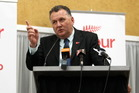 So far this year it is Shane Jones who has delivered Labour's biggest hit. Photo / APN