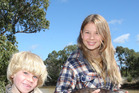 Bindi Irwin, seen here with her brother Robert, has caused a backlash in the US over her association with SeaWorld. Photo / APN