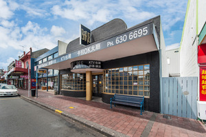 The Dominion Rd building's frontage was designed to make it look like a 1930s cinema.