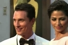 Hollywood's finest hit the Oscars red carpet as the sun emerged just in time for the 86th Academy Awards.