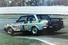 New Zealand's Robbie Francevic says his Volvo 'always looked like it was a bit out of control'.