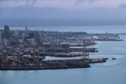 Port profits would go into private hands and be lost to the city if CCOs were privatised. Photo / Brett Phibbs