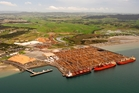 Northland Port Corporation (NZ) saw its trading surplus for the interim period rise 8.8 per cent .