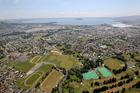 Rotorua from the air