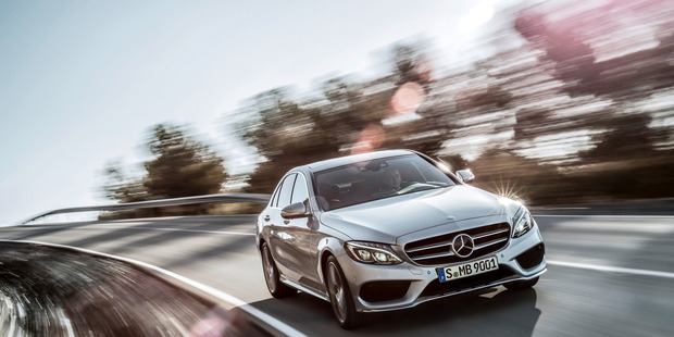 Mercedes-Benz C250. Photo / Supplied
