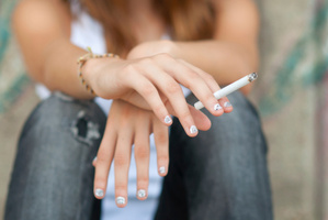 Year 10 students are smoking less. Photo / Getty Images
