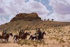John Ford's Western 'The Searchers' was filmed in Monument Valley in Arizona, turning the landscape into a tourist drawcard.