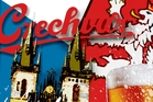 Like all traditional Czech pubs, at Na Dvorku the beer comes to you. Illustration / Rod Emmerson