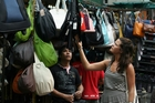 Kuala Lumpur's markets sell knock-off designer bags.