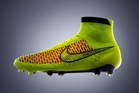 Nike's new Magista soccer boot is endorsed by players such as Spanish international Andres Iniesta. Photo / AP