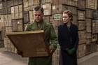 Matt Damon and Cate Blanchett in The Monuments Men.