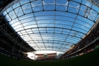 Forsyth Barr Stadium offers the ideal setting for running rugby. Photo / Getty Images