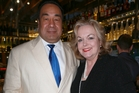 David Wong Tung and Judith Collins. Photo / Norrie Montgomery