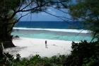 Tangaroro Beach on Atiu Island.