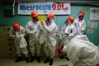 Radiation at Fukushima's power plant has declined to acceptable levels. Photo / AP