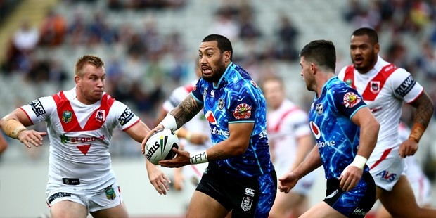 Feleti Mateo and the Warriors pack need to start physically dominating opponents. GETTY IMAGES