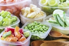 Fruit and vegetables being frozen for a long time should be blanched to retain their best qualities.