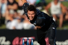 Trent Boult has no illusions about securing a place in the first choice T20 side. Photo / Getty  Images