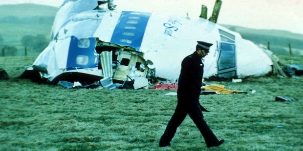 New evidence suggests Syrian extremists, at Iran's behest, carried out the Lockerbie bombing. Picture / AP