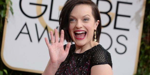 Elisabeth Moss says her marriage to Fred Armisen was 'traumatic'. Photo/AP