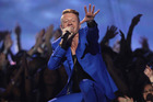 Macklemore's Thrift Shop has been named the best-performing rap song of the past 25 years. Photo/AP