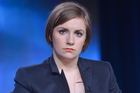 Lena Dunham has apologised for making an off-colour joke on Twitter. Photo/AP
