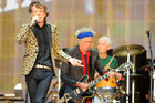 The Rolling Stones say they were censored by the Chinese government. Photo/AP.