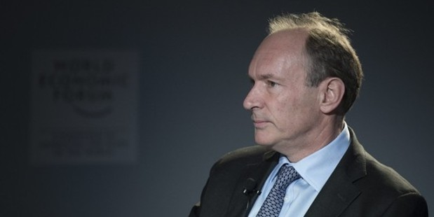 Sir Tim Berners-Lee is encouraging the public to fight for the independence of the internet. Photo / AP
