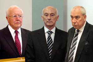 Bruce Davidson, Peter Steigrad and Gary Urwin. Photos / NZ Herald