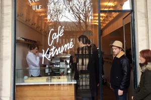 Cafe Kitsune, Paris. Picture / Supplied