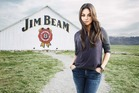 Mila Kunis is the new spokeswoman for Jim Beam.