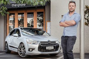 Ben Bayly is executive chef at Auckland restaurants The Grove and Baduzzi - and a Citroen fan. Picture / Ted Baghurst