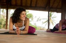 Yoga teacher Amy Ippoliti will be at Wanderlust. Photo / Emily Polar.