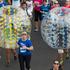 Competitors make their way along Tamaki Drive, during the Round The Bays fun run. Photo / New Zealand Herald / Brett Phibbs