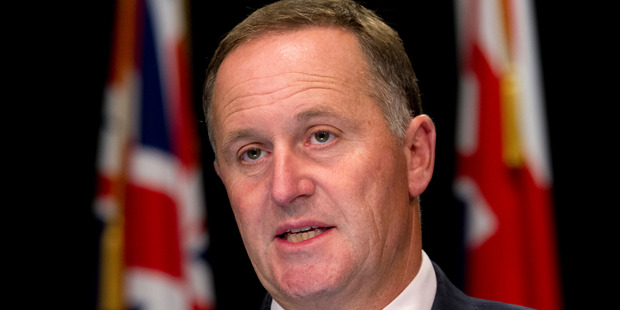 Prime Minister John Key's critics say he is using the flag to surreptitiously tap into the rich veins of patriotism and national identity that lurk in voters' subconscious. Photo / Mark Mitchell