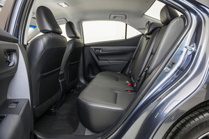 A much roomier interior for the new Toyota Corolla ZR sedan launches this week. Photo / Supplied