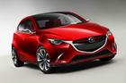 Mazda's Hazumi concept, revealed at the Geneva motor show. Photo / Supplied
