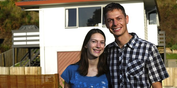 Andrew and Amadea Simmonds knew they had to move quickly when they found their ideal first home. Photo/George Novak