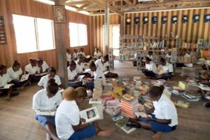 Children in the Solomon Islands and Fiji are reading books donated from New Zealand.