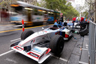 A Swisse two-seater grand prix car is getting geared up to go in Melbourne. Pictures / Getty Images
