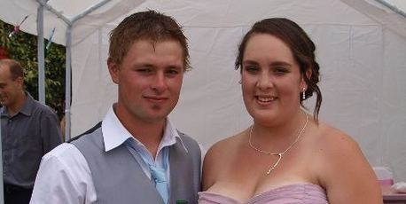 Brogan Collins and Dani McLaren plan to go ahead with their wedding at a farm at Ngaruawahia this weekend.