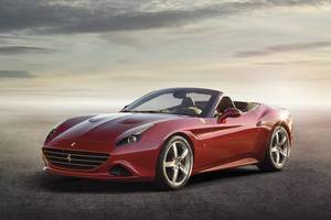 The turbocharged Ferrari California T would rank as a dream car for some. Photo  / Supplied