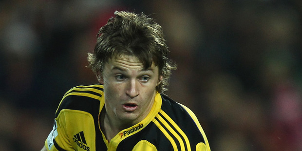 Beauden Barrett. File photo / Getty Images