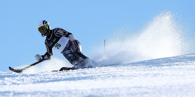New Zealand's Adam Hall was one of 15 in the field of 31 who failed to finish their run. Photo / Getty Images
