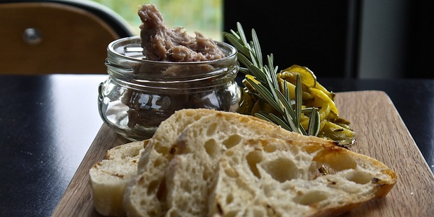 Black Estate's Duck Rillette.